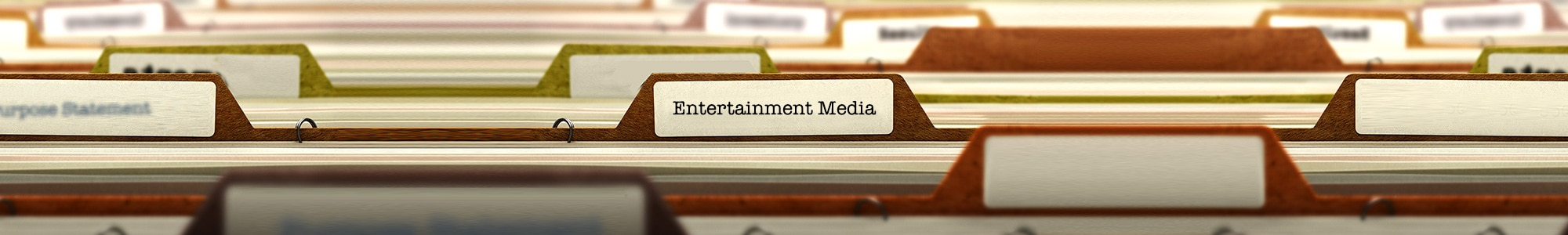 Entertainment media
